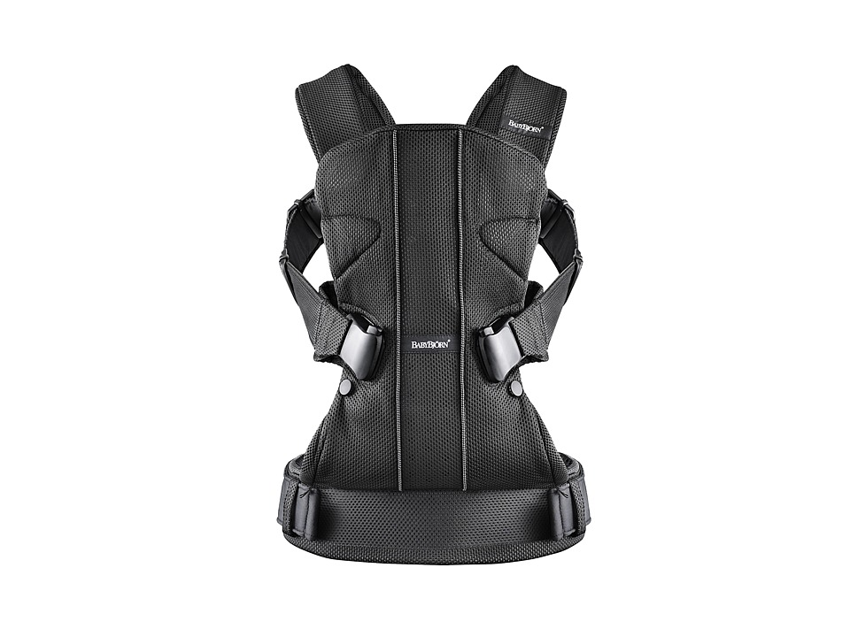 BabyBjorn - Baby Carrier ONE (Black Mesh) Carriers Travel