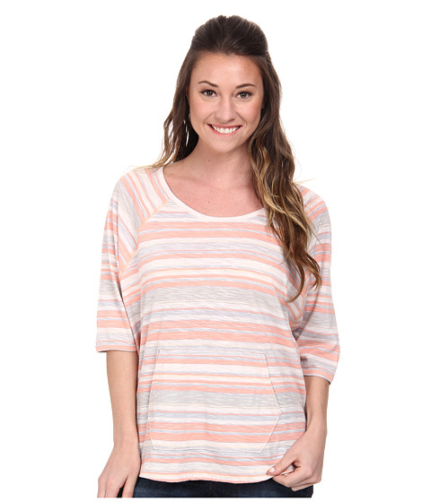Woolrich - Passing Trails Dolman Top (Peachtree Stripe) Women