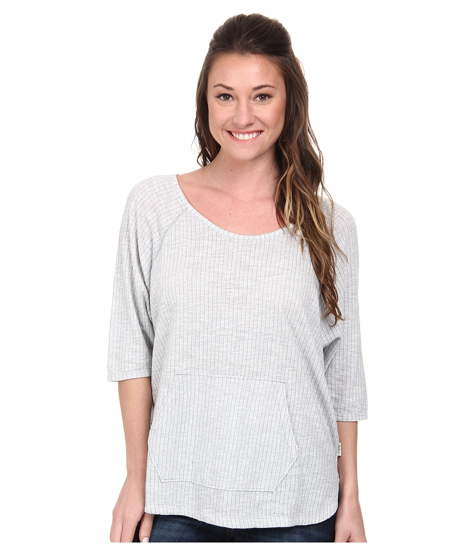Woolrich - Passing Trails Dolman Top (Smokey Gray) Women