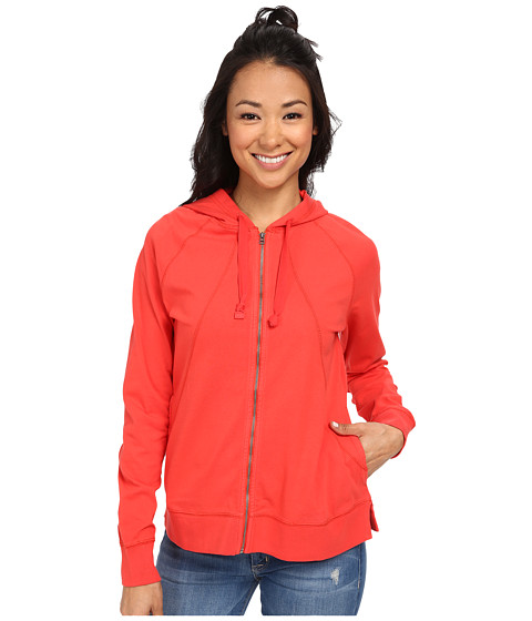 Woolrich - First Forks Hoodie II (Kayak Red) Women's Sweatshirt