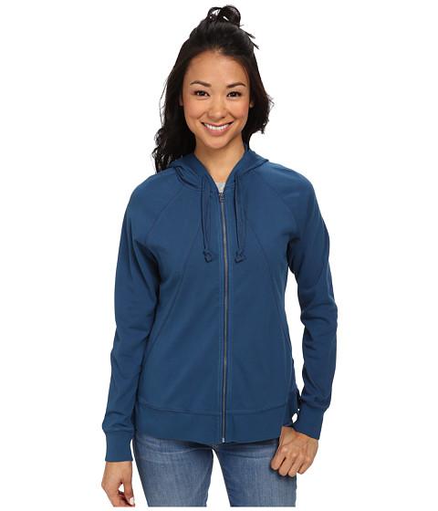 Woolrich - First Forks Hoodie II (Atlantic) Women's Sweatshirt