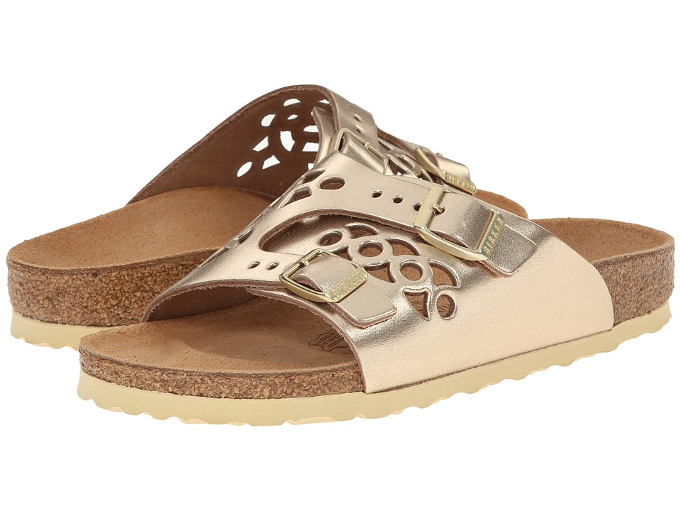 Birkenstock - Bellary (Metallic Gold Leather) Sandals