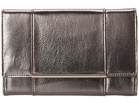 Ivanka Trump - Ivanka Travel Organizer (Pewter Metallic) Clutch Handbags
