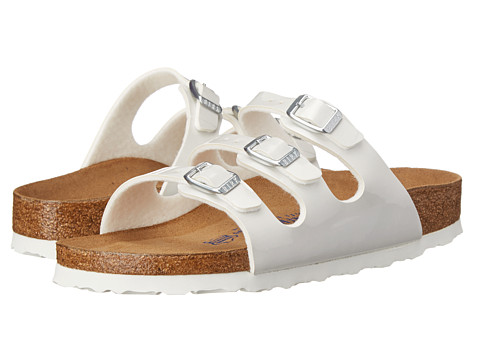 Birkenstock - Florida (Pearly White Birko-Flor ) Sandals