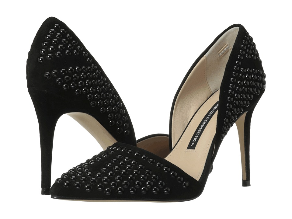 French Connection - Ellis (Black) High Heels