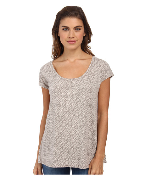 Woolrich - Passing Trails S/S Tee (Canyon Geo) Women