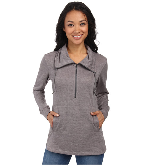 Woolrich - Uptown Popover (Dark Grey Heather) Women's Sweater