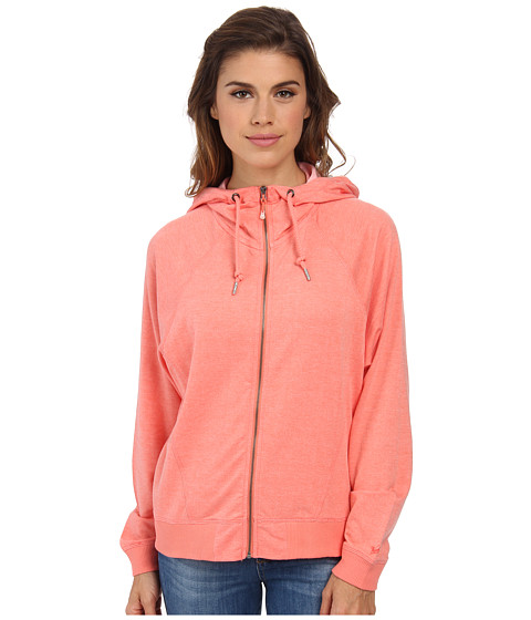 Woolrich - Uptown Full-Zip Hoodie (Guava Heather) Women