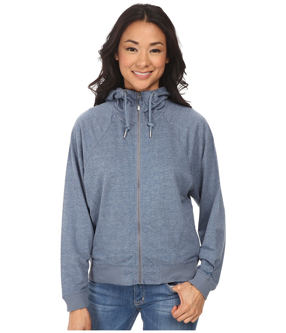 Woolrich - Uptown Full-Zip Hoodie (Atlantic Heather) Women