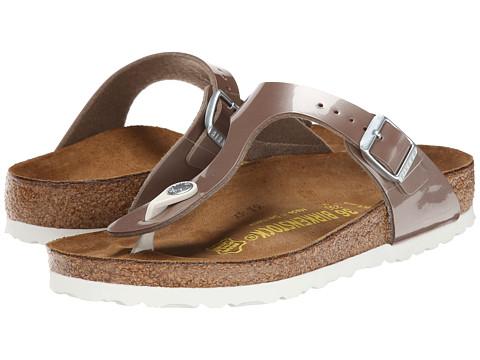 Birkenstock - Gizeh (Pearly Hazel Birko-Flor ) Sandals