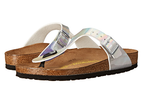 Birkenstock - Gizeh (Mirror Silver Birko-Flor ) Sandals