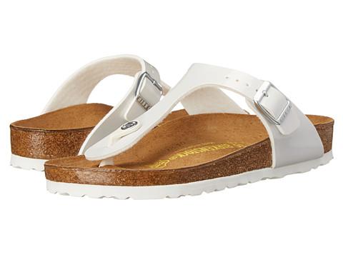 Birkenstock - Gizeh (Pearly White Birko-Flor ) Sandals