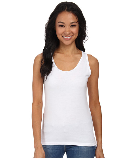 Woolrich - Norrine Embroidered Trim Tank (Seasalt) Women's Sleeveless