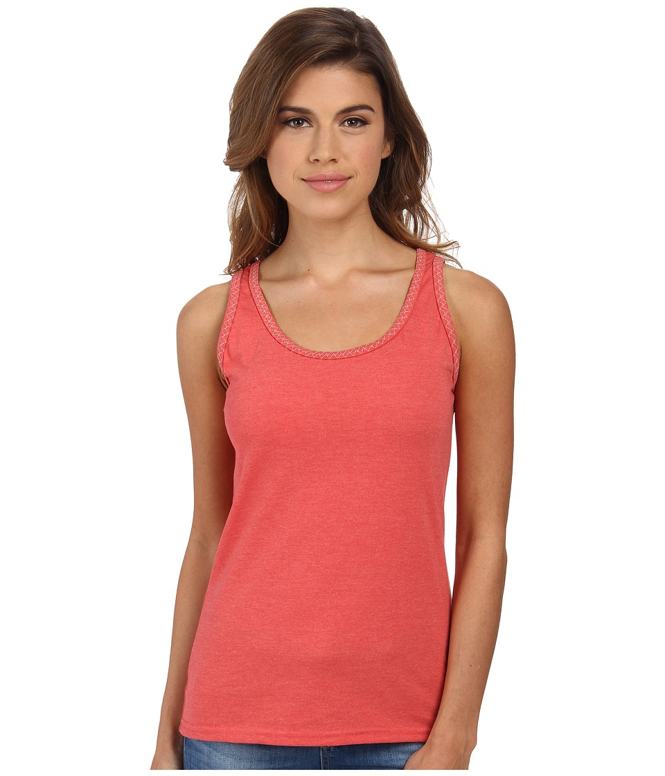 Woolrich - Norrine Embroidered Trim Tank (Shell Pink) Women's Sleeveless
