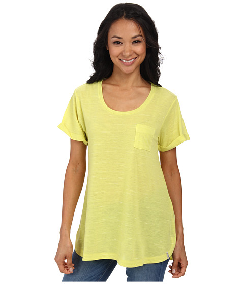 Woolrich - Fork In The Road Tunic Tee (Lemongrass) Women