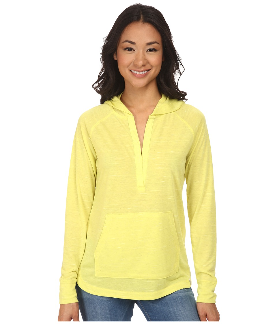 Woolrich - Fork In The Road Popover Hoodie (Lemongrass) Women's Sweatshirt
