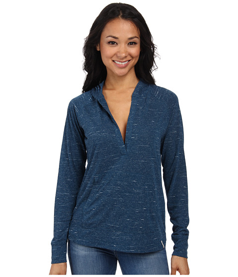 Woolrich - Fork In The Road Popover Hoodie (Atlantic) Women