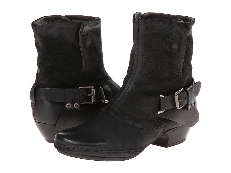 Miz Mooz Evelyn (Black) Cowboy Boots