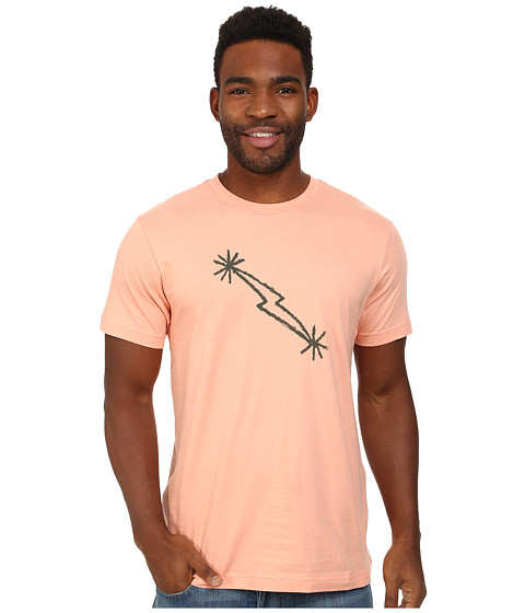 Black Diamond - S/S Midnight Lightning Tee (Peach) Men
