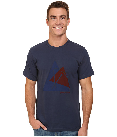 Black Diamond - S/S Raven Tee (Indigo) Men's T Shirt