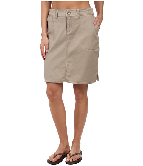 Woolrich - Wood Dove II Skirt (Khaki) Women's Skirt