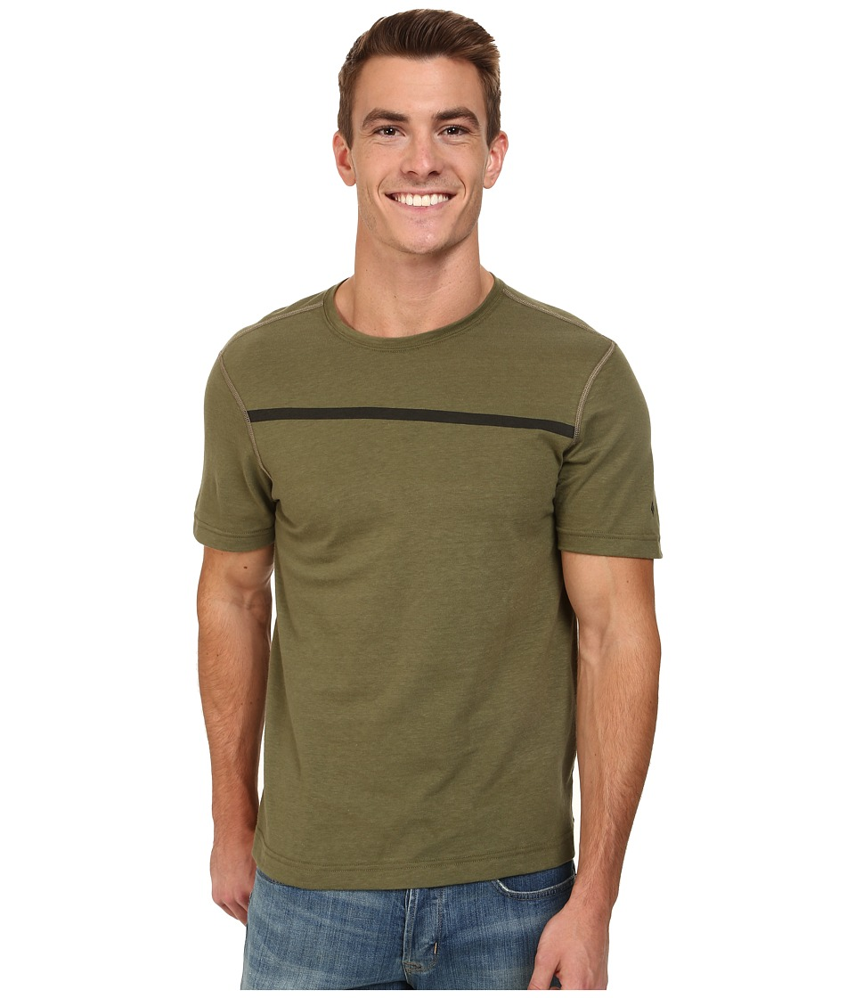 Black Diamond - Cottonwood Tee (Burnt Olive) Men