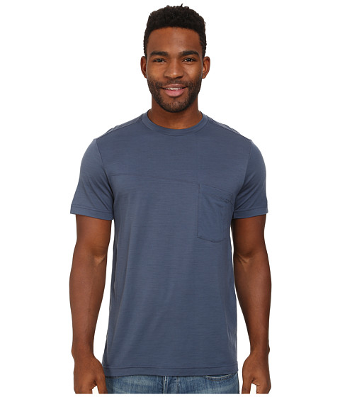 Black Diamond - Deployment Pocket Tee (Indigo) Men's Short Sleeve Pullover