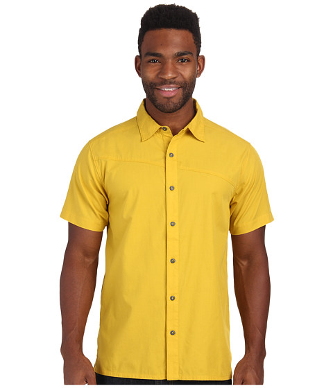 Black Diamond - S/S Spotter Shirt (Ochre) Men's Short Sleeve Button Up