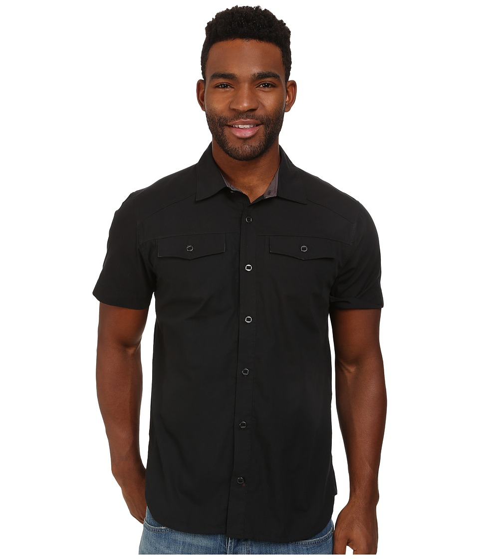 Black Diamond - S/S Technician Shirt (Black) Men's Short Sleeve Button Up