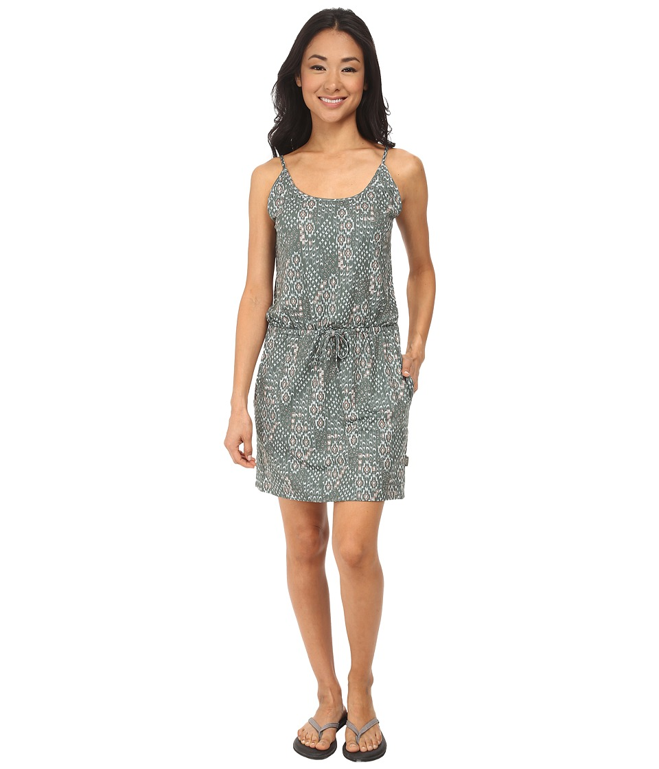 Woolrich - Center Line Knit Dress (Olive Drab) Women's Dress