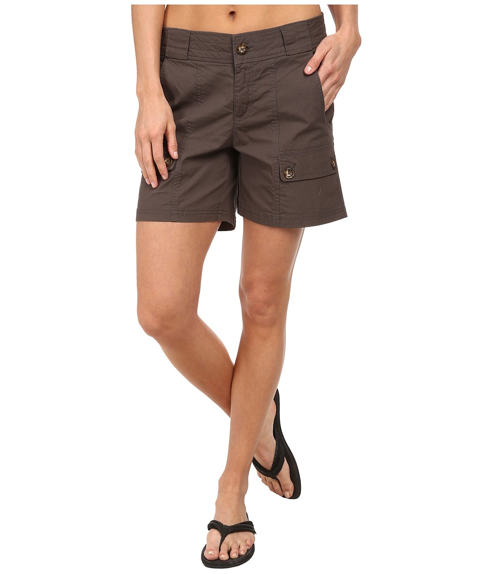 Woolrich - Laurel Run II Short (Slate) Women's Shorts