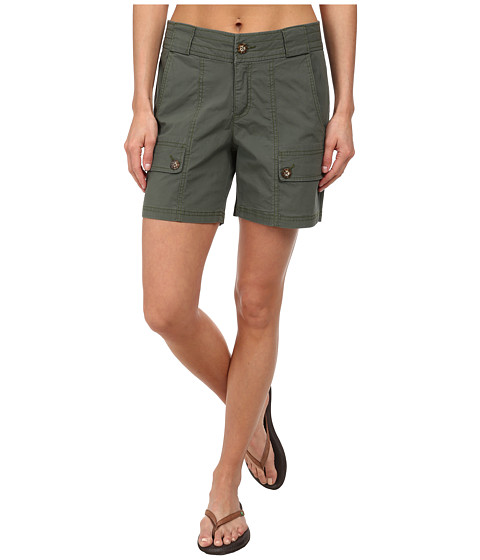 Woolrich - Laurel Run II Short (Olive Drab) Women's Shorts