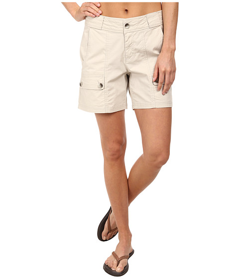 Woolrich - Laurel Run II Short (Stone) Women's Shorts