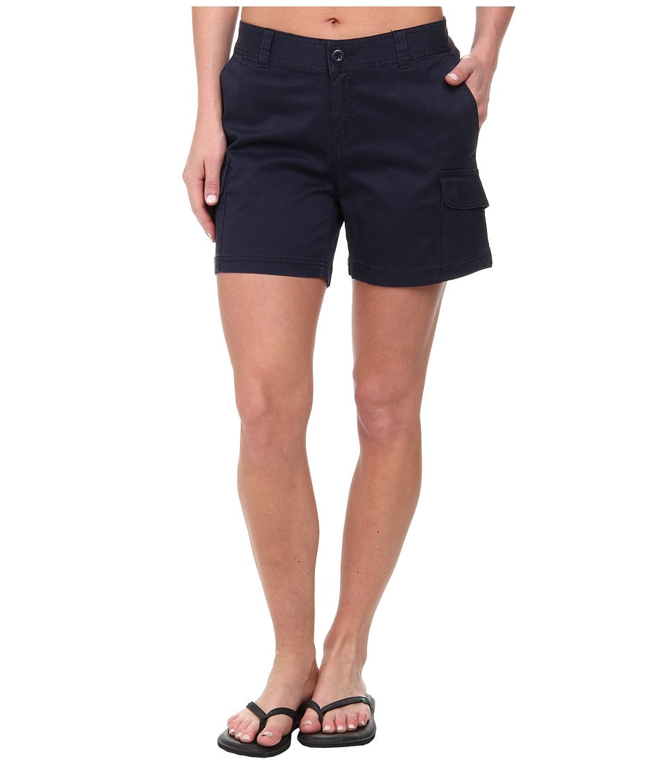 Woolrich - Wood Dove Straight Short (Deep Indigo) Women