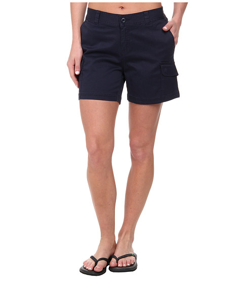 Woolrich - Wood Dove Straight Short (Deep Indigo) Women's Shorts