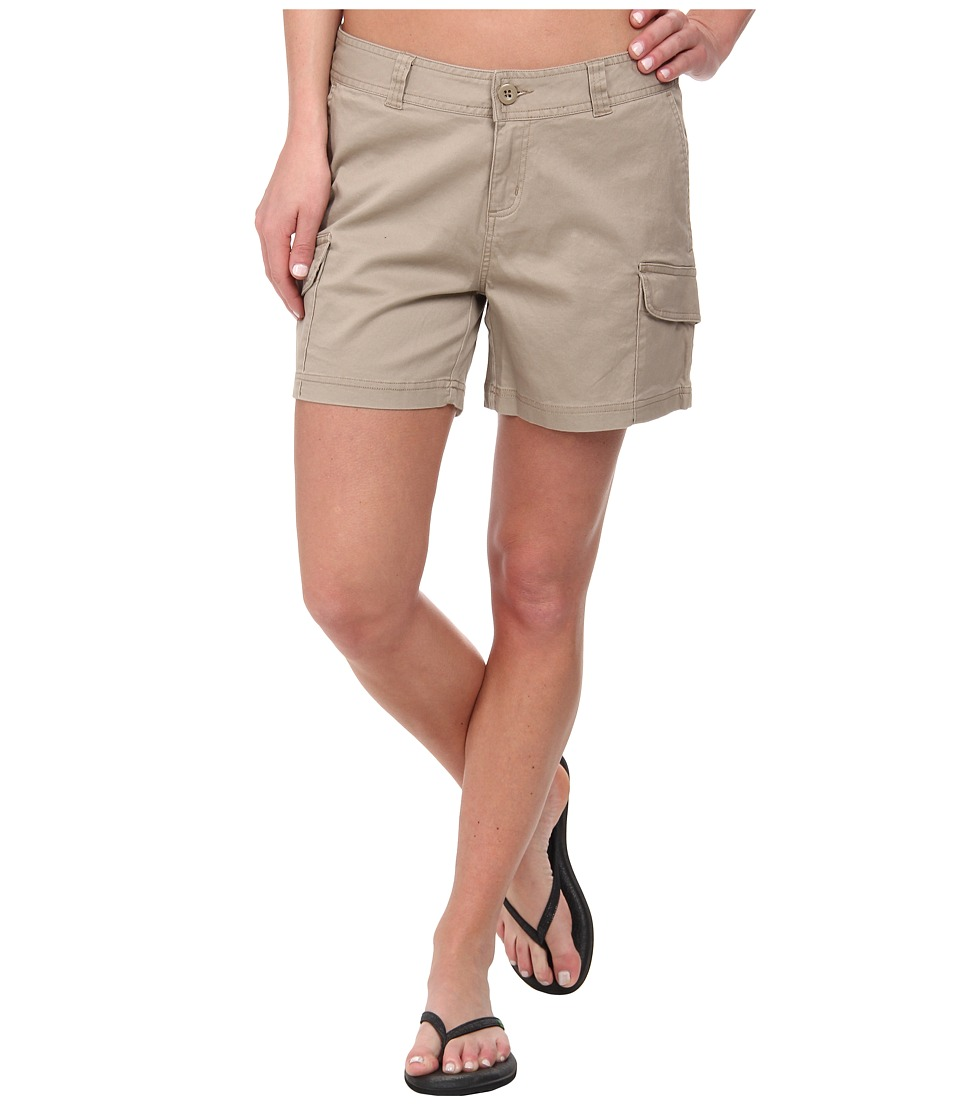 Woolrich - Wood Dove Straight Short (Khaki) Women
