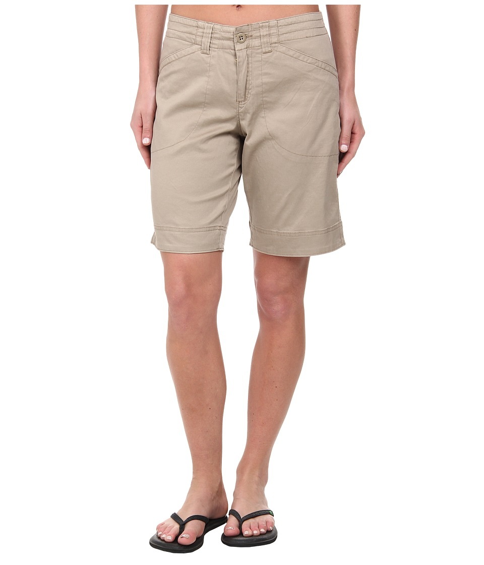 Woolrich - Wood Dove Curved Short (Khaki) Women's Shorts