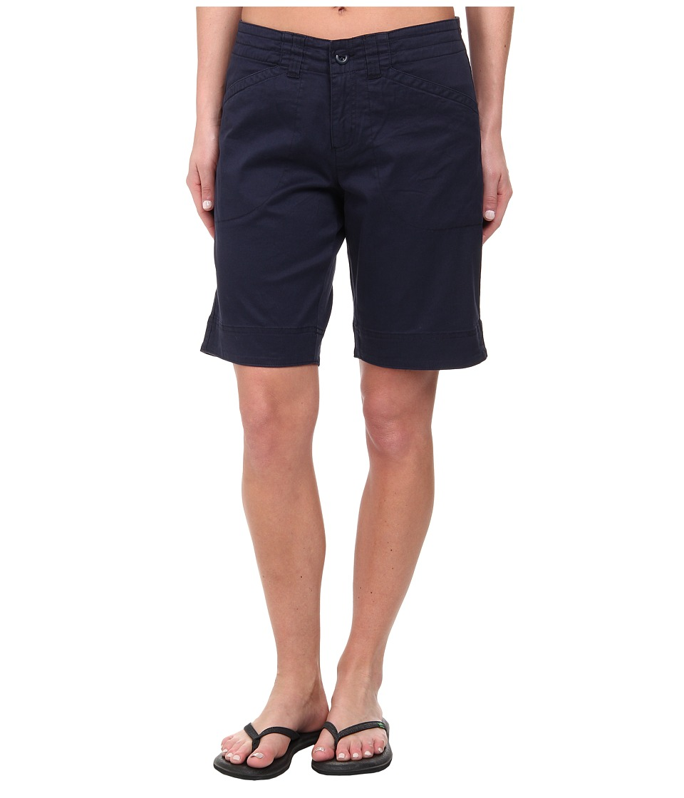 Woolrich - Wood Dove Curved Short (Deep Indigo) Women's Shorts