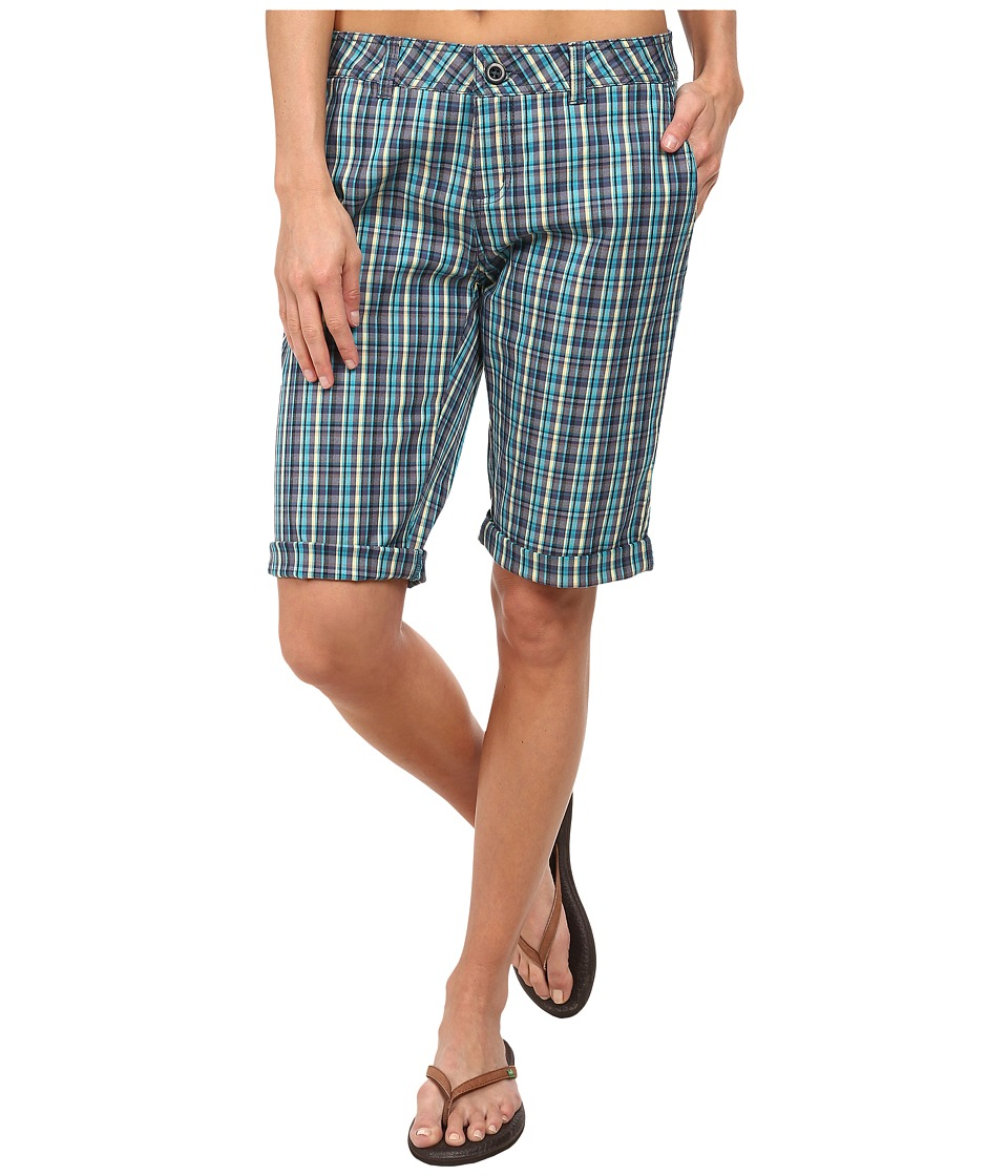 Woolrich - Wood Dove Plaid Short (Parrot) Women's Shorts