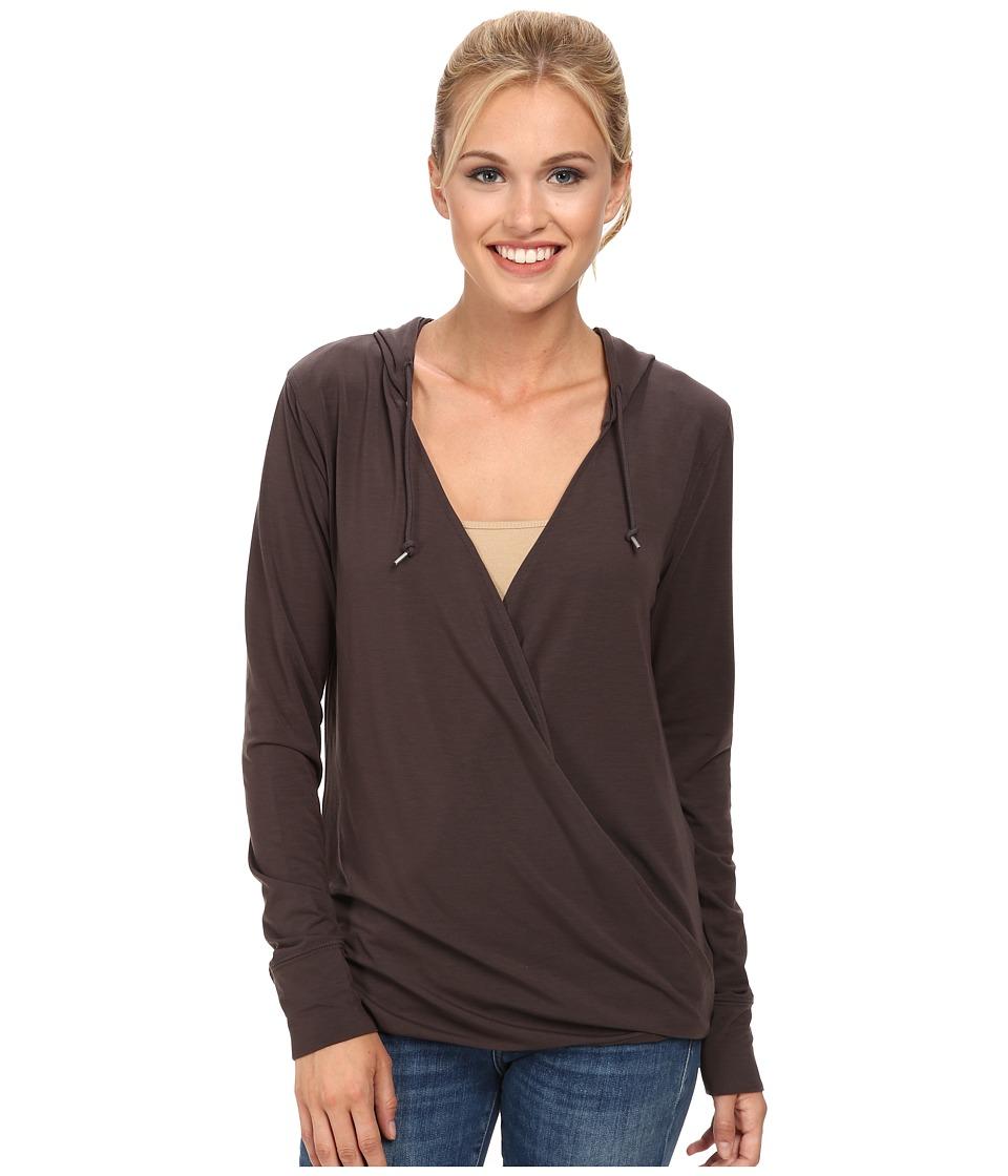 Woolrich - Rendezvous Hoodie (Slate) Women's Sweatshirt