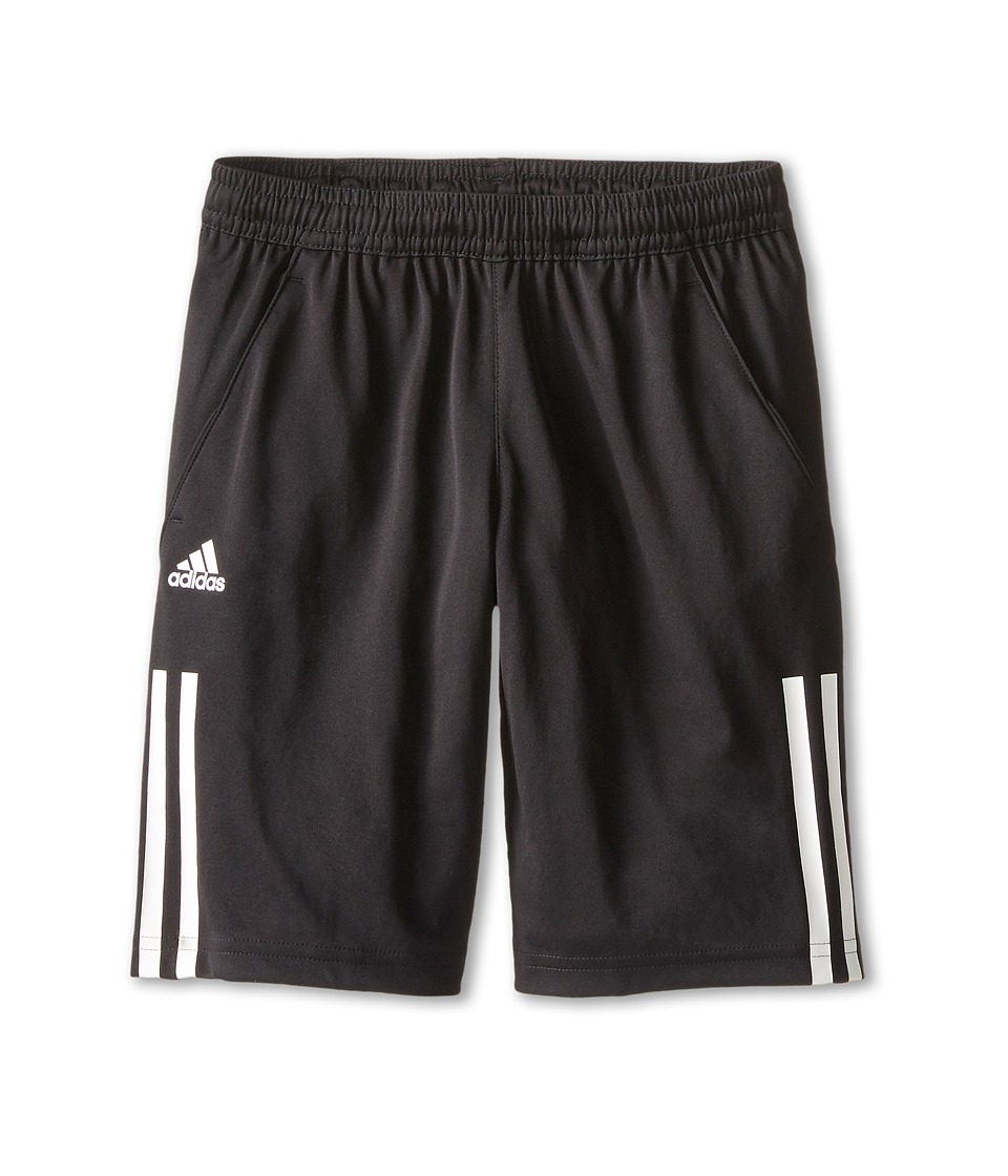 adidas Kids - Response CL Bermuda (Little Kids/Big Kids) (Black/White) Boy's Shorts