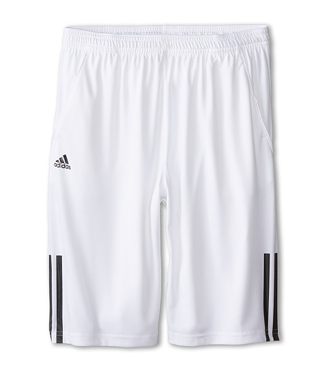 adidas Kids - Response CL Bermuda (Little Kids/Big Kids) (White/Black) Boy's Shorts
