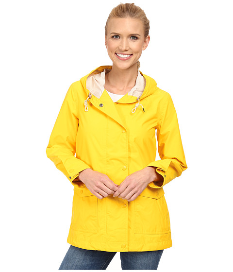 Woolrich - Classic Waterproof Rain Slicker II (Banana) Women's Coat