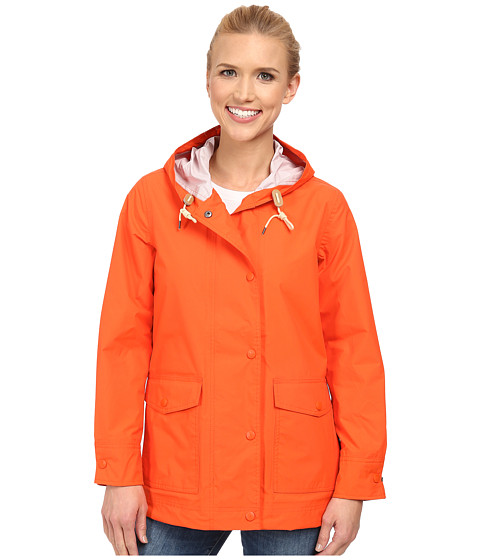 Woolrich - Classic Waterproof Rain Slicker II (Mandarin Red) Women's Coat