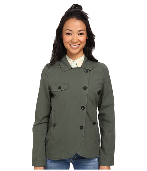 Woolrich - Laurel Run Shirt Jacket (Olive Drab) Women's Coat