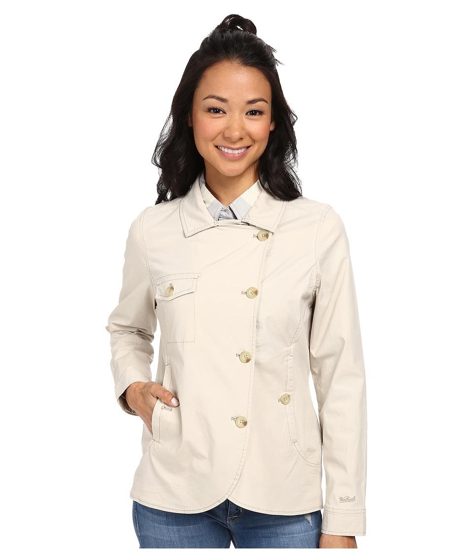 Woolrich - Laurel Run Shirt Jacket (Stone) Women