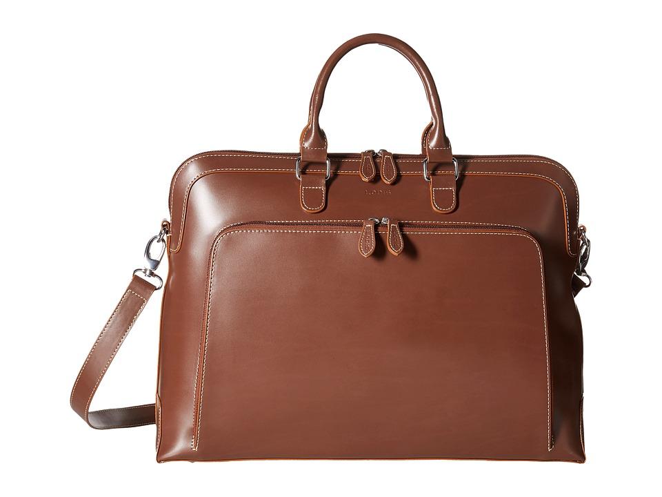 Lodis Accessories - Glendora Krista Satchel (Taupe) Satchel Handbags