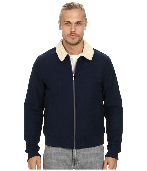 Original Penguin - Bomber Jacket (Dress Blues) Men's Coat