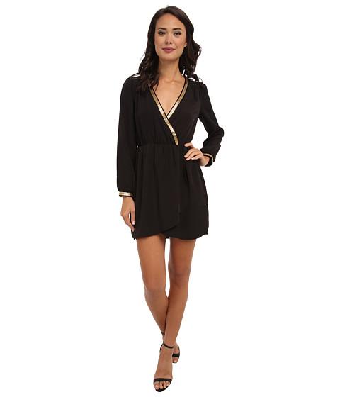 Brigitte Bailey - Demri Dress (Black/Gold Trim) Women's Dress