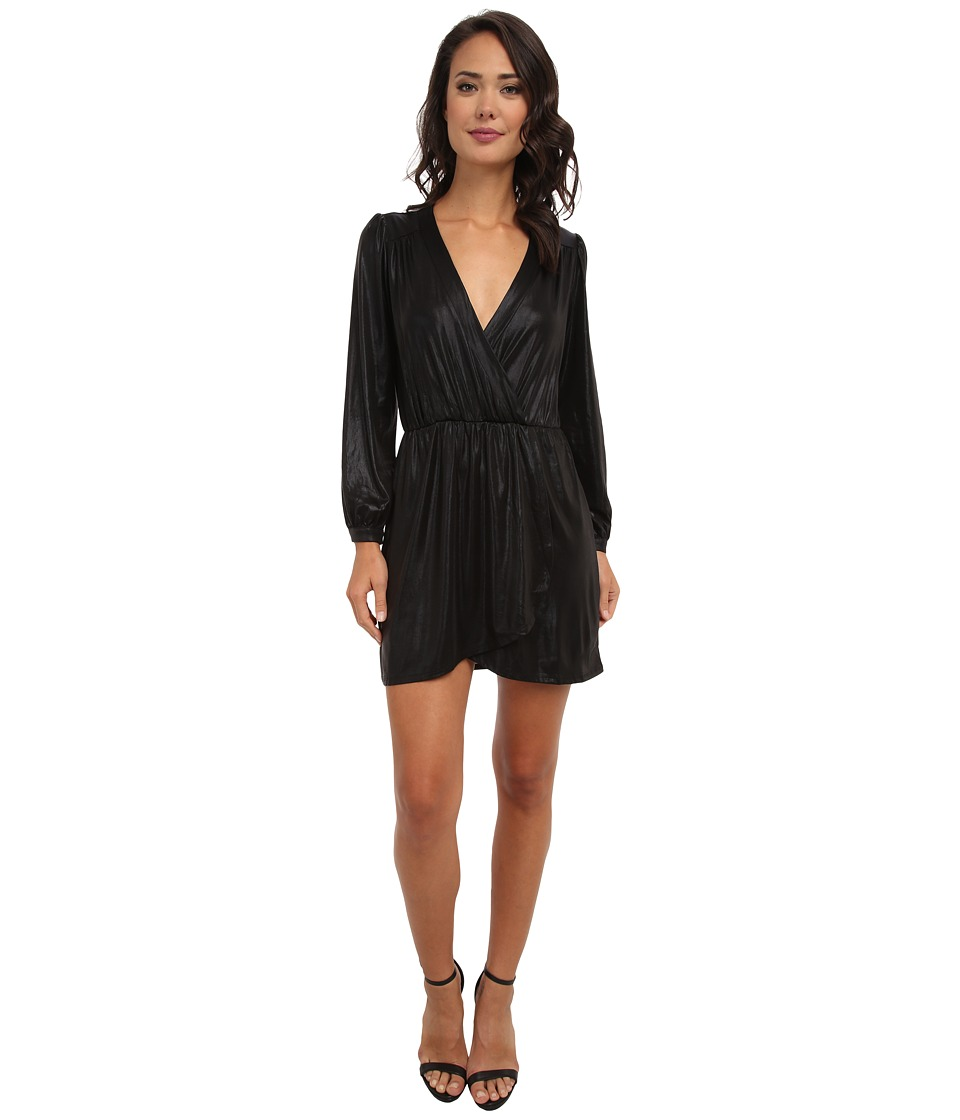 Brigitte Bailey - Demri Dress (Black Shimmer) Women's Dress